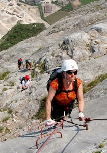 VIA FERRATA COURSE DOLOMITES